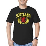 Scotland Fitted T-shirts (Dark)