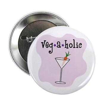 """Veg-a-holic 2.25"""" Button (100 pack)"""