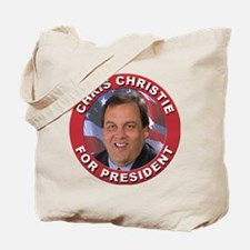 Chris Christie for President Tote Bag