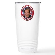 Chris Christie for President Travel Mug
