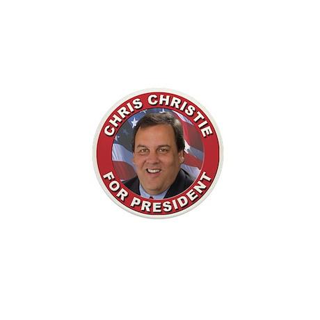 Chris Christie for President Mini Button (10 pack)