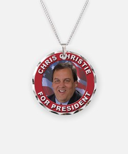 Chris Christie for President Necklace