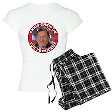 Chris Christie for President Pajamas