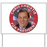 Chris christie Yard Signs