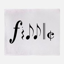 Great NEW fiddle design! Throw Blanket