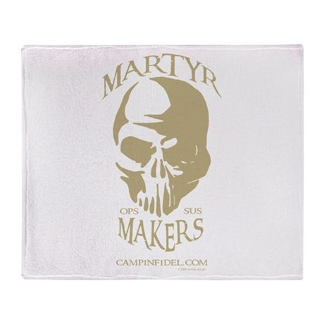 Martyr Makers Throw Blanket