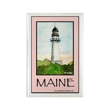 Cape Elizabeth Light Rectangle Magnet