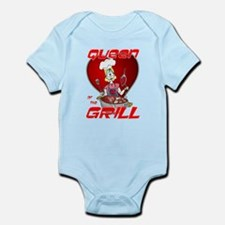 Queen of the Grill-White Infant Bodysuit