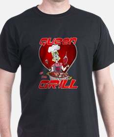 Queen of the Grill-White T-Shirt