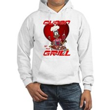 Queen of the Grill-Black Hoodie
