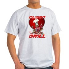 Queen of the Grill-Black T-Shirt