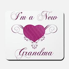 Heart For New Grandmas Mousepad