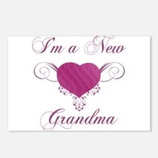 Heart For New Grandmas Postcards (Package of 8)