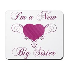 Heart For New Big Sister Mousepad