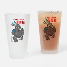 My Little Ninja Pint Glass