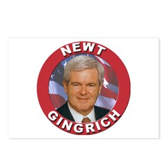Newt Gingrich Postcards (Package of 8)