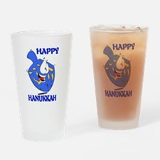 HAPPY HANUKKAH Pint Glass
