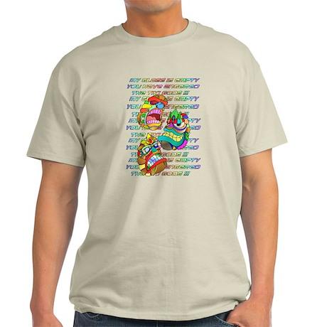 Angered the TIKI GODS Light T-Shirt