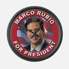 Marco Rubio for President Large Wall Clock