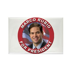 Marco Rubio for President Rectangle Magnet (10 pac