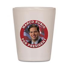 Marco Rubio for President Shot Glass