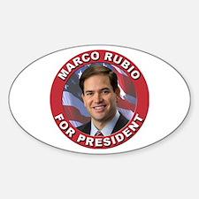 Marco Rubio for President Sticker (Oval)