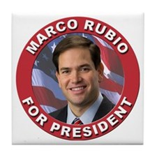 Marco Rubio for President Tile Coaster