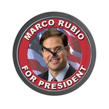 Marco Rubio for President Wall Clock