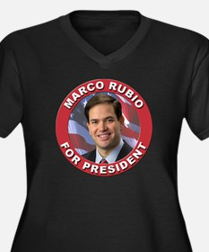 Marco Rubio for President Women's Plus Size V-Neck