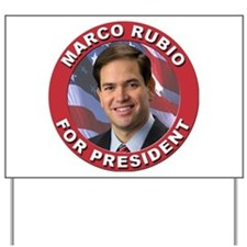 Marco Rubio for President Yard Sign