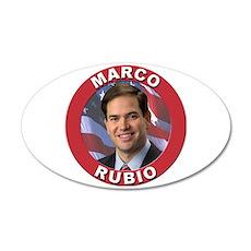 Marco Rubio 22x14 Oval Wall Peel