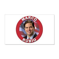 Marco Rubio 22x14 Wall Peel
