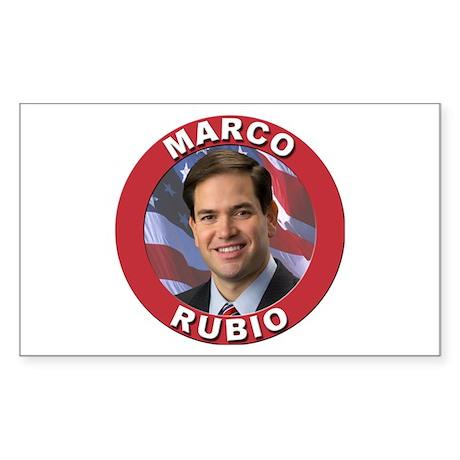 Marco Rubio Sticker (Rectangle 10 pk)
