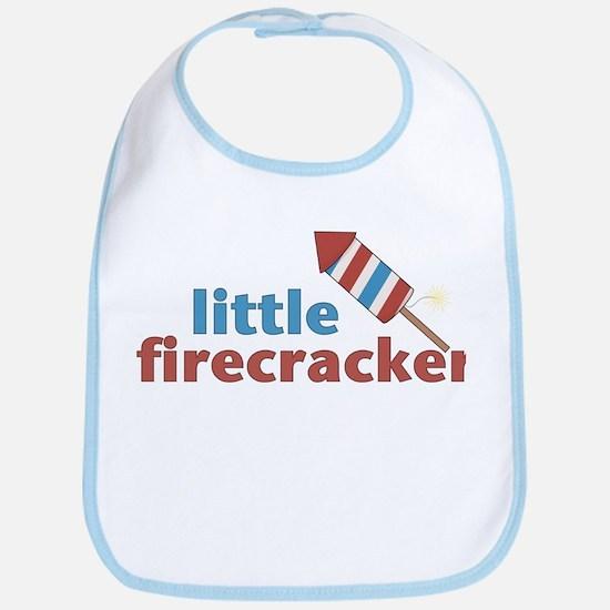 Little firecracker Bib
