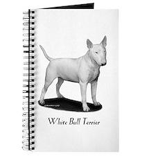 White Bull Terrier Journal