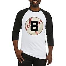 Baseball Player Number 8 Team Baseball Jersey
