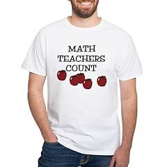 Math Teachers Count Shirt
