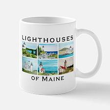 Lighthouses of Maine Mug