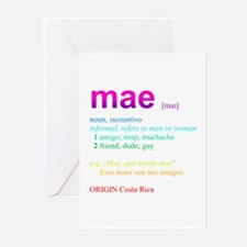 Mae Greeting Cards (Pk of 20)