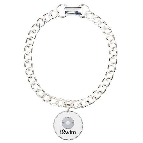 iSwim Charm Bracelet, One Charm