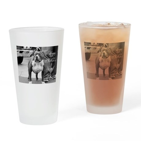 Father's Day Staffordshire Te Pint Glass
