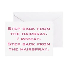 hairspray Greeting Card