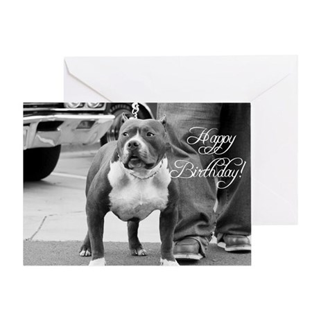 Happy Birthday Staffordshire Greeting Card