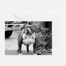 Happy Birthday Staffordshire Greeting Card