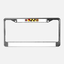 Folly Beach License Plate Frame