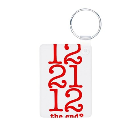 2012 End Aluminum Photo Keychain