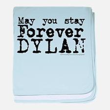 Forever Dylan baby blanket