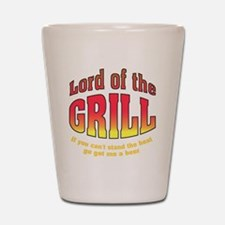 Lord of the Grill Shot Glass
