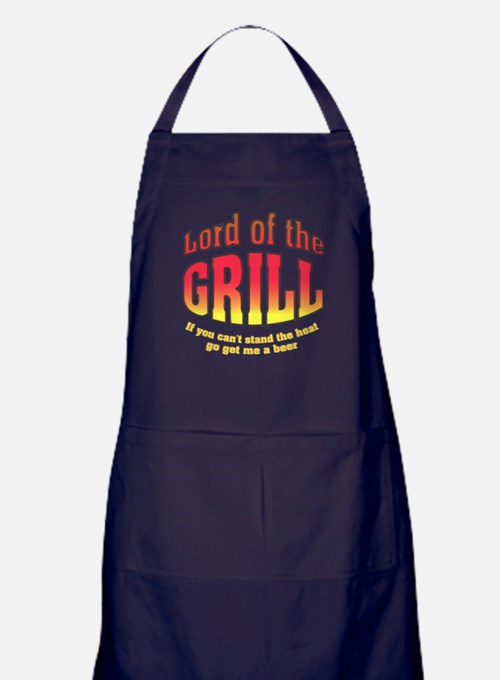 Lord of the Grill Apron (dark)