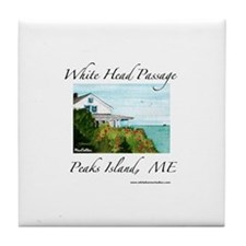 Whitehead Passage Tile Coaster